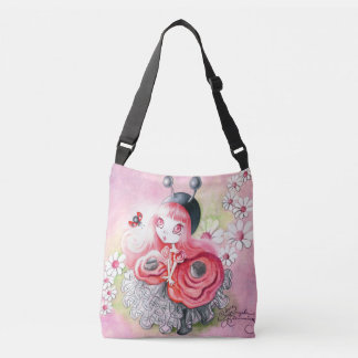 Ladybug Girl Crossbody Bag