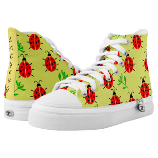 Ladybug High Top Shoes
