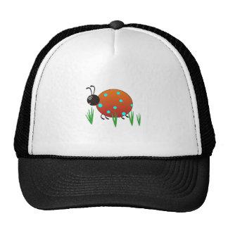 LADYBUG IN GRASS TRUCKER HAT
