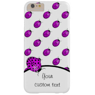 Ladybug in pink/purple barely there iPhone 6 plus case