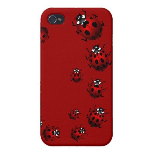 Ladybug IPhone 4 Case Lady Bird IPhone Gifts : Zazzle