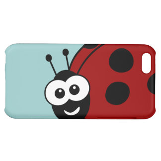 Ladybug Cover For iPhone 5C