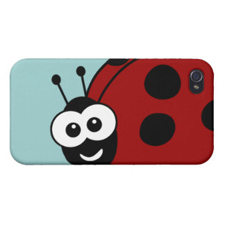 Ladybug Covers For iPhone 4