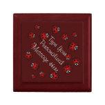 Ladybug Jewellery Box Personalised Keepsake Box