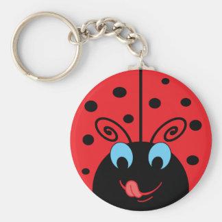 Ladybug Key Ring
