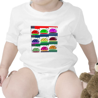 LADYBUG Lady Bug KIDS love Insects Play Romper