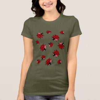 Ladybug Ladybird cascade T-Shirt