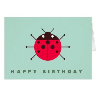 Ladybug / Ladybird Happy Birthday Card
