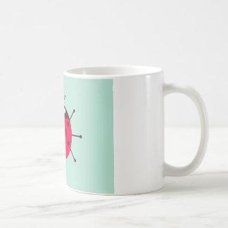 Ladybug / Ladybird / Lady Beetle Basic White Mug