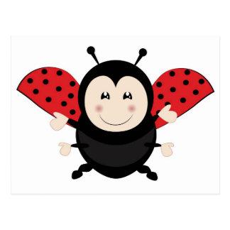 Ladybug Ladybird Postcard