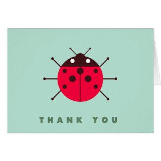 Ladybug / Ladybird Thank You Card