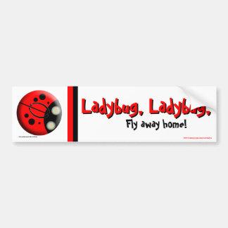Ladybug Ladybug Bumper Sticker