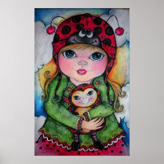 Ladybug! Ladybug! Poster! U Choose Size Poster