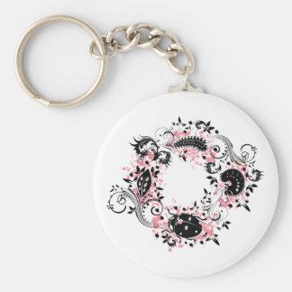 Ladybug Life Cycle Keychain - Pink