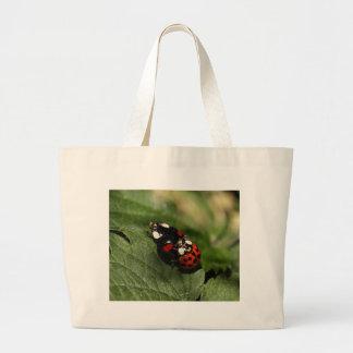 Ladybug Love Canvas Bag