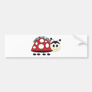 Ladybug Love Bumper Sticker