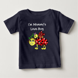 Ladybug Love Customize or add Text Baby T-Shirt