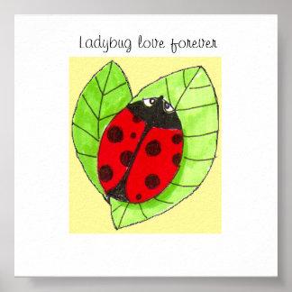 Ladybug Love Forever Poster