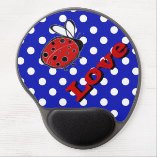 Ladybug Love Mouse Pad Gel Mouse Pad