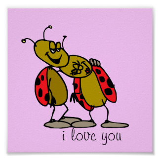 Ladybug Love Poster