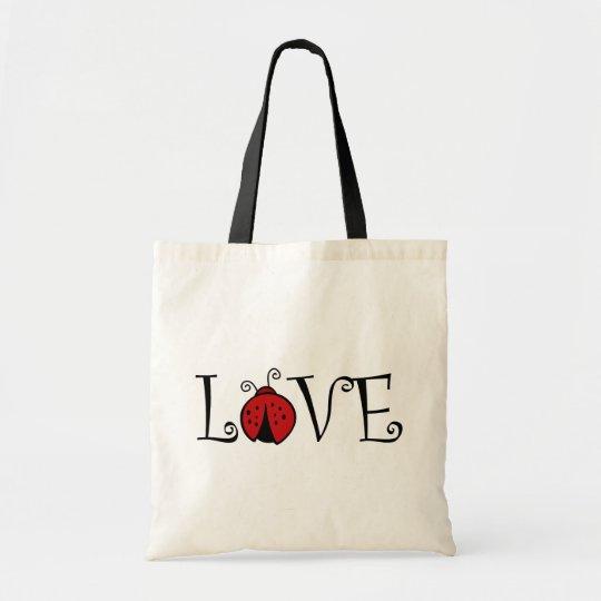 Ladybug Love totebag Tote Bag