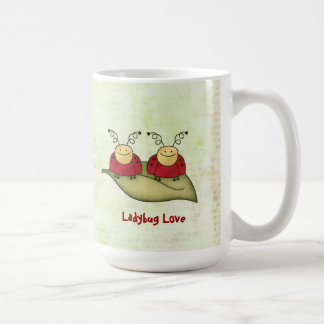 Ladybug Love Whimsical Graphic Mug