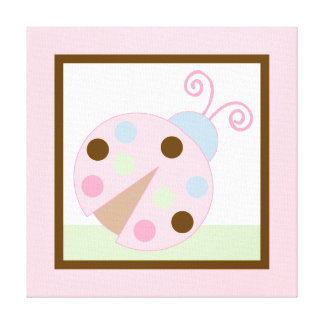 Ladybug Lullaby Canvas Print