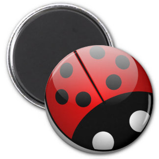 Ladybug Fridge Magnets