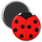 Ladybug Magnets