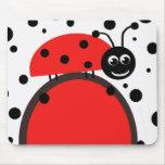 Ladybug Mouse Pad
