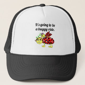 Ladybug Movie Buff Capped Off Trucker Hat