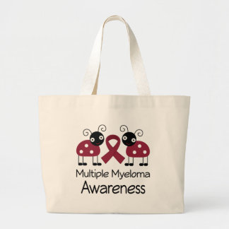 Ladybug Multiple Myeloma Awareness Tote Bag