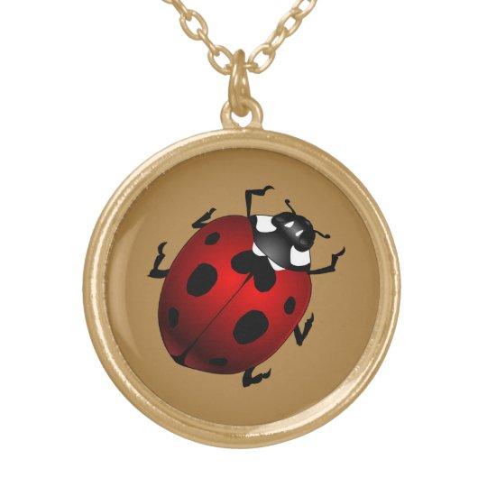 Ladybug Necklace Ladybug Ladybird Jewellery &
