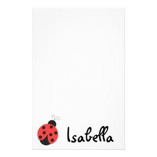 Ladybug Notepad Stationery