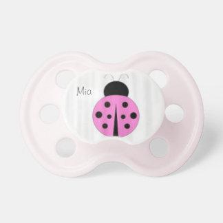 ladybug pacifer dummy