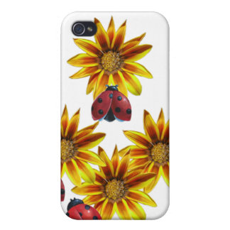 Ladybug Party iPhone 4 Covers