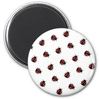 Ladybug Pattern Magnet