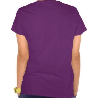 Ladybug Peace Love Hope Purple Awareness Ribbon Tshirts