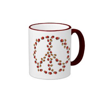 Ladybug Peace Mug