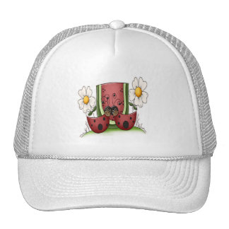Ladybug Picnic Cap
