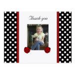 Ladybug: Picture: Thank You Postcard