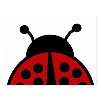 Ladybug post card
