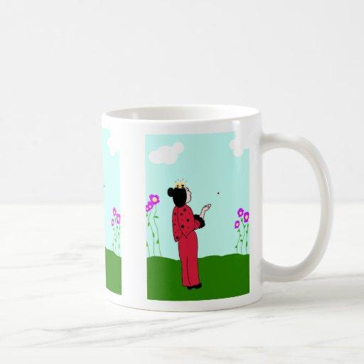 Ladybug Princess Let's Go Mug