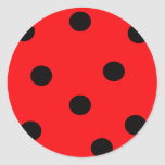 Ladybug Print Sticker