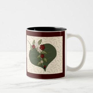 Ladybug Quilt Square Mug