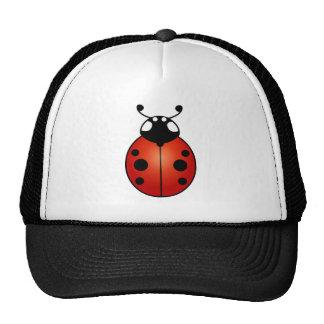 Ladybug Red Orange Black Ladybird Trucker Hat