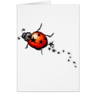 Ladybug Rockstar Greeting Cards