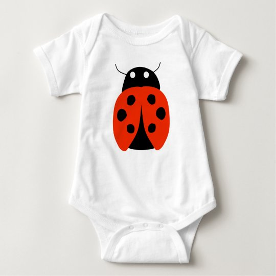Ladybug Romper suit Baby Bodysuit