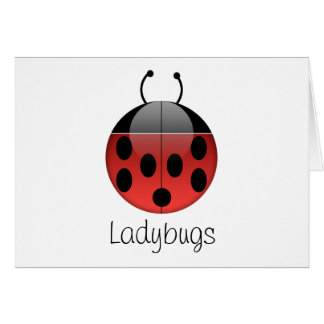 Ladybug Series 2 Greeting Card
