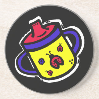 ladybug sippy cup coaster